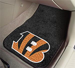 Fan Mats Cincinnati Bengals Carpet Car Mats