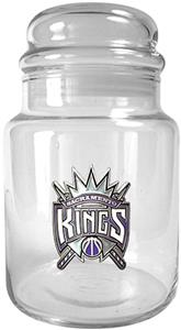 NBA Sacramento Kings Glass Candy Jar