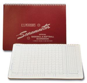 Peterson's Baseball Scoremaster Scorebooks