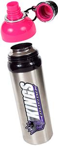 NBA Sacramento Kings Water Bottle w/Pink Top