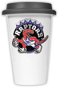 NBA Toronto Raptors Ceramic Cup with Black Lid