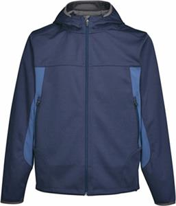 TRI MOUNTAIN Mens Belford Hooded Soft Shell Jacket