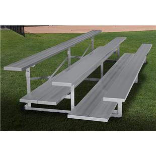 Gared Single Foot Plank Fixed Aluminum Bleachers