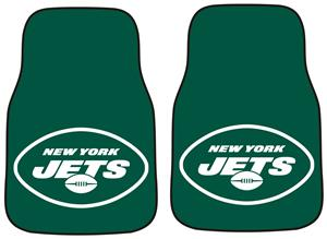 Fan Mats New York Jets Carpet Car Mats