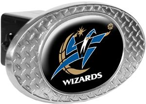 NBA Washington Wizards Diamond Plate Hitch Cover