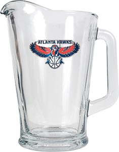 NBA Atlanta Hawks 1/2 Gallon Glass Pitcher