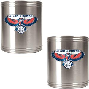 NBA Atlanta Hawks Stainless Steel Can Holders