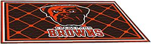 Fan Mats Cleveland Browns 4x6 Rug