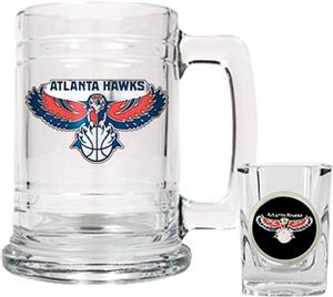 NBA Atlanta Hawks Boilermaker Gift Set