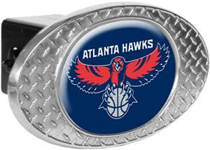 NBA Atlanta Hawks Diamond Plate Hitch Cover