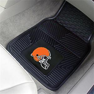Fan Mats Cleveland Browns Vinyl Car Mats