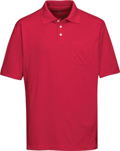 TRI MOUNTAIN Vigor Pocket Polyester Pique Polo