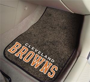 Fan Mats Cleveland Browns Carpet Car Mats