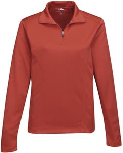 TRI MOUNTAIN Lady Clementon 1/4 Zip Pullover Shirt
