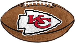 Fan Mats Kansas City Chiefs Football Mat