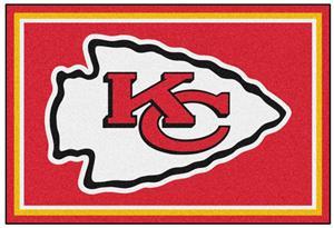 Fan Mats NFL Kansas City Chiefs 5x8 Rug