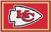 Fan Mats NFL Kansas City Chiefs 4x6 Rug