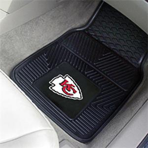 Fan Mats Kansas City Chiefs Vinyl Car Mats (set)