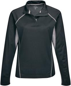 TRI MOUNTAIN Lady Trident 1/4 Zip Pullover Shirt