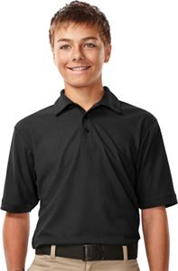 TRI MOUNTAIN Endurance Youth Waffle Knit Polo