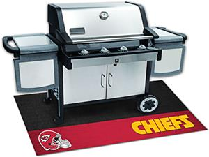 Fan Mats Kansas City Chiefs Grill Mat