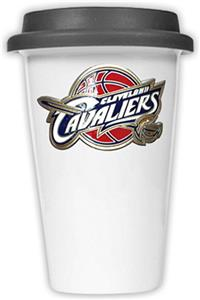 NBA Cleveland Cavaliers Ceramic Cup with Black Lid