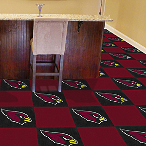 Fan Mats NFL Arizona Cardinals Carpet Tiles