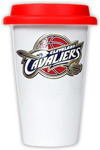 NBA Cleveland Cavaliers Ceramic Cup with Red Lid