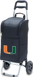 Picnic Time University of Miami Cart Cooler
