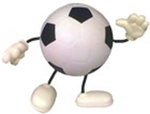 Bendable Soccer Ball Guy