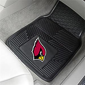 Fan Mats Arizona Cardinals Vinyl Car Mats