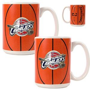 NBA Cleveland Cavaliers GameBall Mug (Set of 2)