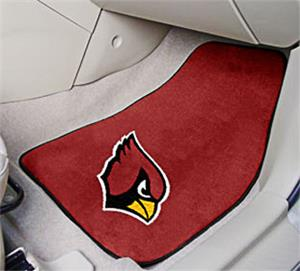 Fan Mats Arizona Cardinals Carpet Car Mats