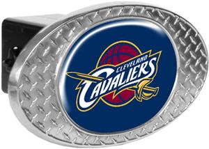 NBA Cleveland Cavaliers Diamond Plate Hitch Cover