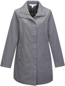 Lilac Bloom Womens Katherine Polyester Trench Coat