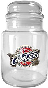 NBA Cleveland Cavaliers Glass Candy Jar
