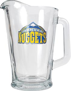 NBA Denver Nuggets 1/2 Gallon Glass Pitcher