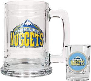NBA Denver Nuggets Boilermaker Gift Set