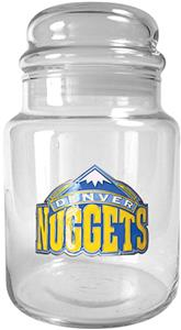 NBA Denver Nuggets Glass Candy Jar