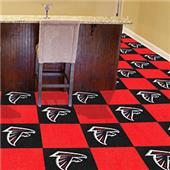 Fan Mats NFL Atlanta Falcons Carpet Tiles