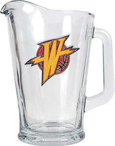 NBA Golden State Warriors 1/2 Gallon Glass Pitcher
