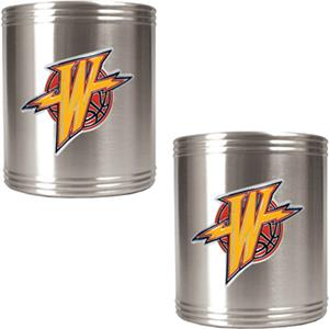 NBA Warriors Stainless Steel Can Holders
