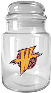 NBA Golden State Warriors Glass Candy Jar