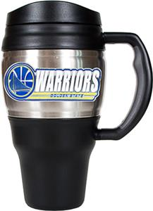 NBA Warriors Stainless 20oz Travel Mug