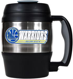 NBA Warriors 52oz Stainless Macho Travel Mug