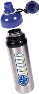 NBA Golden State Warriors Water Bottle w/Blue Top