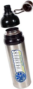 NBA Golden State Warriors Water Bottle w/Black Top