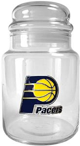NBA Indiana Pacers Glass Candy Jar