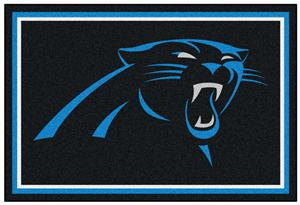 Fan Mats Carolina Panthers 5x8 Rug