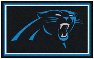 Fan Mats NFL Carolina Panthers 4x6 Rug
